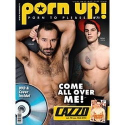 PornUp 71 Magazine + Cazzo Casting Couch DVD (M0171)