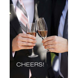 Union: Cheers! (Male Couple) Greeting Card (M8025)