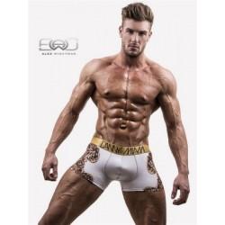 Danny Miami Royal White Boxer Underwear Multi (T5001)