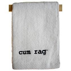 Cum Rag Towel/Handtuch klein White 28 x 43 cm - 11 x 17 inch