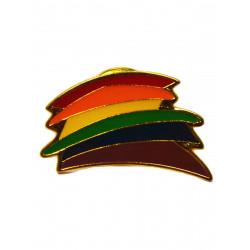 Pin Rainbow Stripes (T5218)