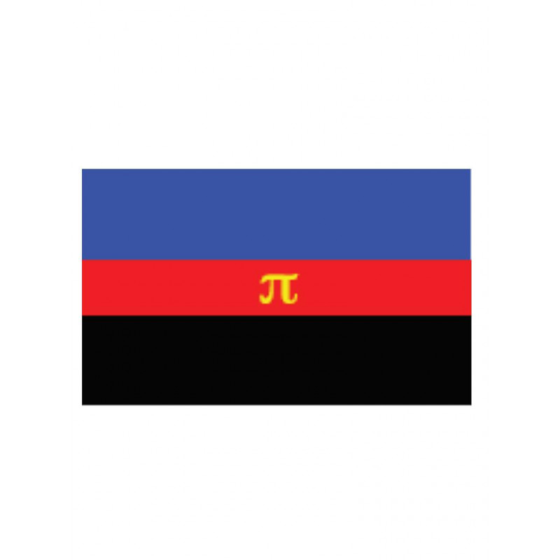 Polyamory Flag Aufkleber / Sticker 5.0 x 7,6 cm (T5202)