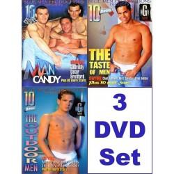 Blue Men 30 h Pack #3 3-DVD-Set (10251D)