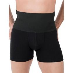 Rounderbum Slim Fit Boxer Brief Underwear Black (T5368)