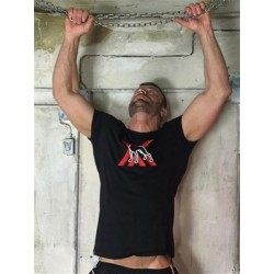 BoXer X-Dog T Xisten T-Shirt Black (T5442)
