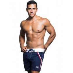 Andrew Christian Crew Swim Shorts Swimwear Navy (T5457)
