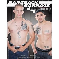 Bareback Barrage #4 DVD (14411D)