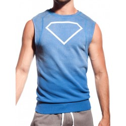 Supawear Diamond Sleeveless Sweater Navy