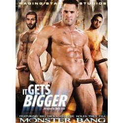 Monster Bang: It Gets Bigger DVD (Raging Stallion) (07712D)