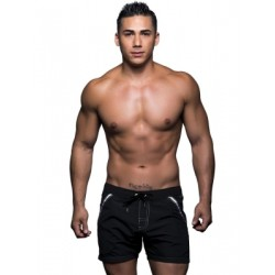 Andrew Christian Atlantic Swim Shorts Swimwear Black (T5445)