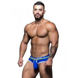 Andrew Christian Almost Naked Tagless Retro Brief Underwear Royal Blue (T5474)