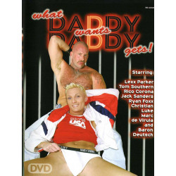 What Daddy Wants Daddy Gets 1 DVD (Gray Panter) (03562D)