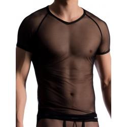 Manstore Brando Shirt M714 T-Shirt Black (T5528)