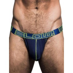 Andrew Christian Blow! Sexy Mesh Arch Jock Underwear Navy (T5488)