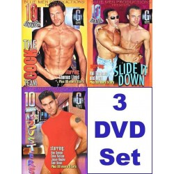 Blue Men 30 h Pack 4 3-DVD-Set