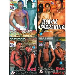 Black 4-DVD-Set (10462D)