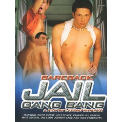 Bareback Jail Gang Bang DVD (15759D)