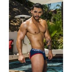 Andrew Christian Show-It Locker Room Jock Brief Underwear Navy Blue (T5496)