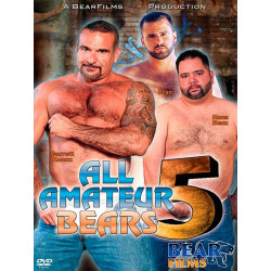 All Amateur Bears #5 DVD (BearFilms) (12852D)
