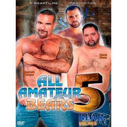 All Amateur Bears #5 DVD (BearFilms) (12852D)