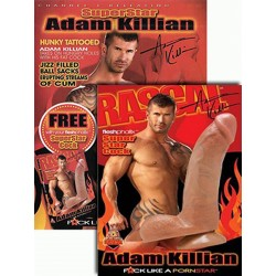 SuperStar Adam Killian FleshPhallix Penis & DVD-Set