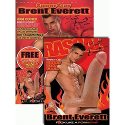 SuperStar Brent Everett FleshPhallix Penis & DVD-Set