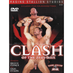 Clash Of The Zeus Men DVD (Raging Stallion) (15766D)
