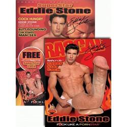 SuperStar Eddie Stone FleshPhallix Penis & DVD-Set (16012D)